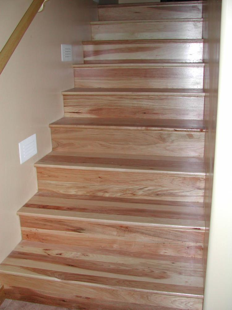 Wood Stair Tread Caps